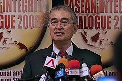 File photo of Abdullah Badawi in 2008.  Image: Wan Leonard.