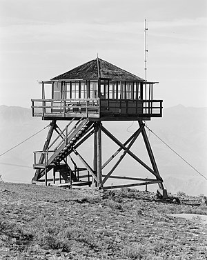National Register of Historic Places listings in Douglas County, Washington - Image: Badger Mountain Lookout