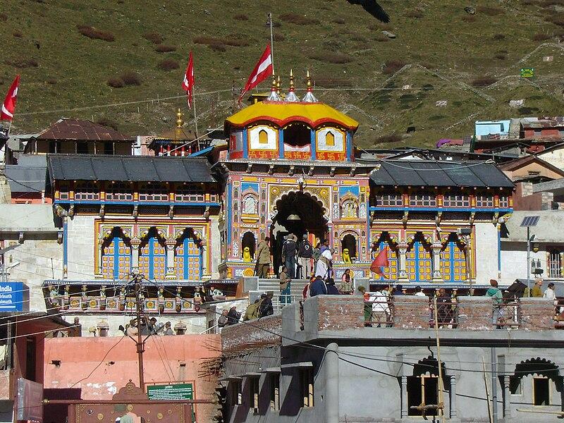 File:Badrinathji temple.JPG