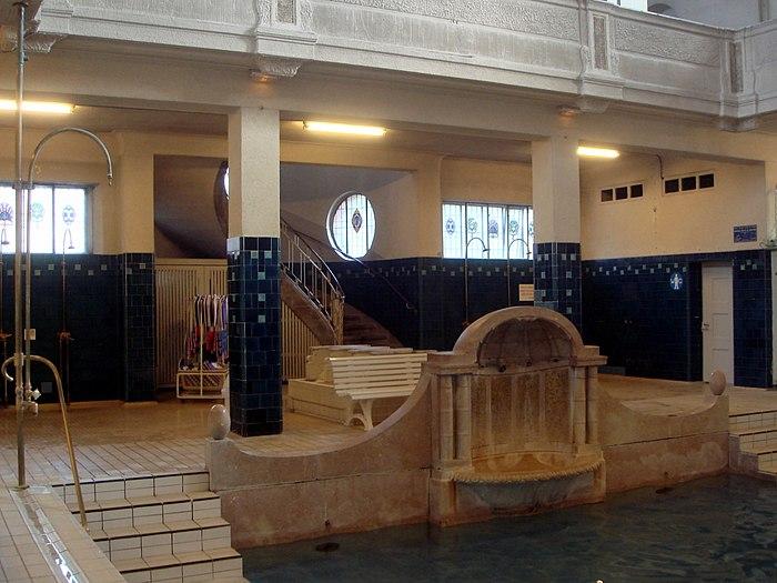 Bains municipaux monument historique strasbourg - Magasin salle de bain strasbourg ...