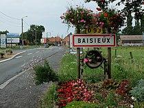 Baisieux (Nord) - Entrée de commune.JPG