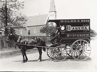 Wagon - A bakery delivery wagon in Queensland, Australia