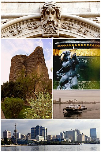 Baku - Image: Baku montage 3