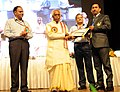 Bandaru Dattatreya presented the Vishwakarma Rashtriya Puraskar and National Safety Awards (performance Year 2013), at a function, in New Delhi. The Secretary, Ministry of Labour and Employment.jpg