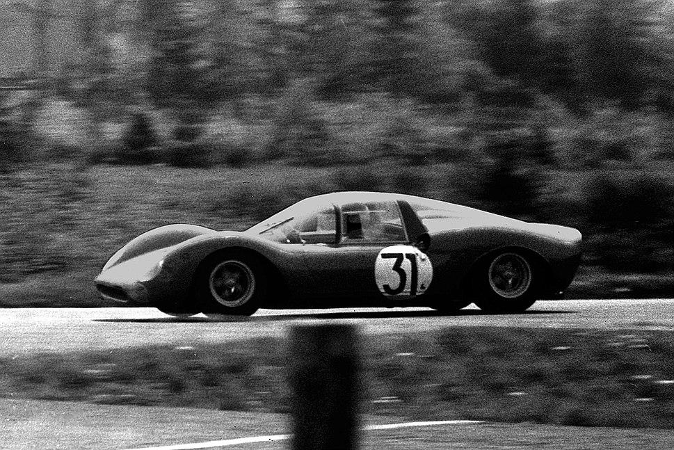 Bandini-1 1965 1000-km-Rennen Nürburgring - Foto Spurzem