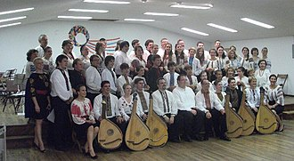Ukrainian Bandurist Chorus - Participants in the Annual Bandura Camp in 2010 held under the auspices of the UBC
