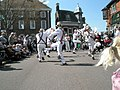 Bank holiday morris dancing in Petersfield Square - geograph.org.uk - 1251345.jpg