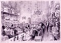 Banquete popular, 15.11.1905, RABASF, painting by Mariano Pedrero.jpg
