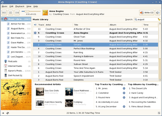 Mono (software) - Banshee media player