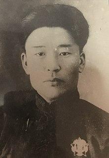 Banzarjavyn Baasanjav Mongolian politician
