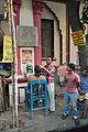 Barbershop - Acharya Prafulla Chandra Road and Nirode Behari Mullick Road Junction - Kolkata 2014-02-23 9451.JPG
