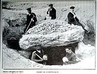 Barbonne fayel tumulus travaux de l'académie de reims 1913.JPG