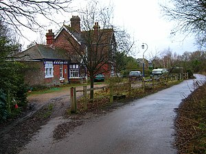 Barcombe railway station - Image: Barcombe Railway Station