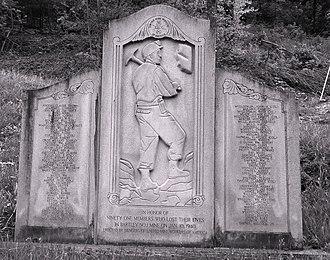 Bartley, West Virginia - Bartley West Virginia Miners Memorial