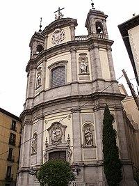 La basílica es obra del arquitecto italiano Santiago Bonavía.