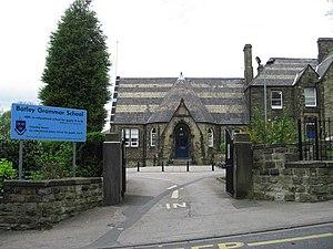 Batley Grammar School - Image: Batley Grammar School geograph.org.uk 414334