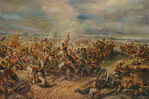 First Serbian Uprising - Battle of Mišar (1806), by Afanasij Šeloumov.