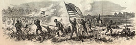 Milliken's Bend Battle from Harper's Weekly