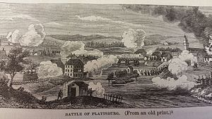 58th (Rutlandshire) Regiment of Foot - The Battle of Plattsburgh in September 1814