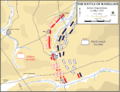 Battle of Ramillies, 23 May 1707 - Initial dispositions.png