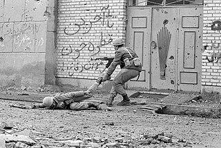 Iraqi invasion of Iran part of Iran-Iraq War