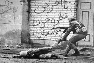 Iraqi invasion of Iran (1980) - Iranian resistance during the Battle of Khorramshahr.