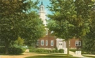 Plainfield, New Hampshire - Image: Baxter Hall, Meriden, NH