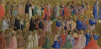 Fiesole Altarpiece - Image: Beato angelico, predella della pala di fiesole 03