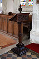 Beauchamp Roding - St Botolph's Church - Essex England - 19th-century lectern reading desk.jpg