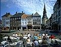 Beeld v.d noord -zijde van de Grote Markt met o.a. St.Quintinuskathedraal - 358623 - onroerenderfgoed.jpg