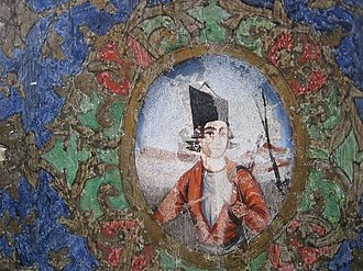 Behnam House - Image: Behnam House Fresco 2