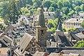 Bell tower of the Penitents Church in Saint-Geniez-d'Olt.jpg