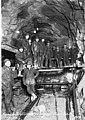 Bench drilling crew in tunnel, Gorge Dam, November 7, 1923 (SPWS 181).jpg