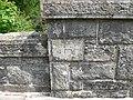 Bench mark on the Hirddu bridge - geograph.org.uk - 1323110.jpg