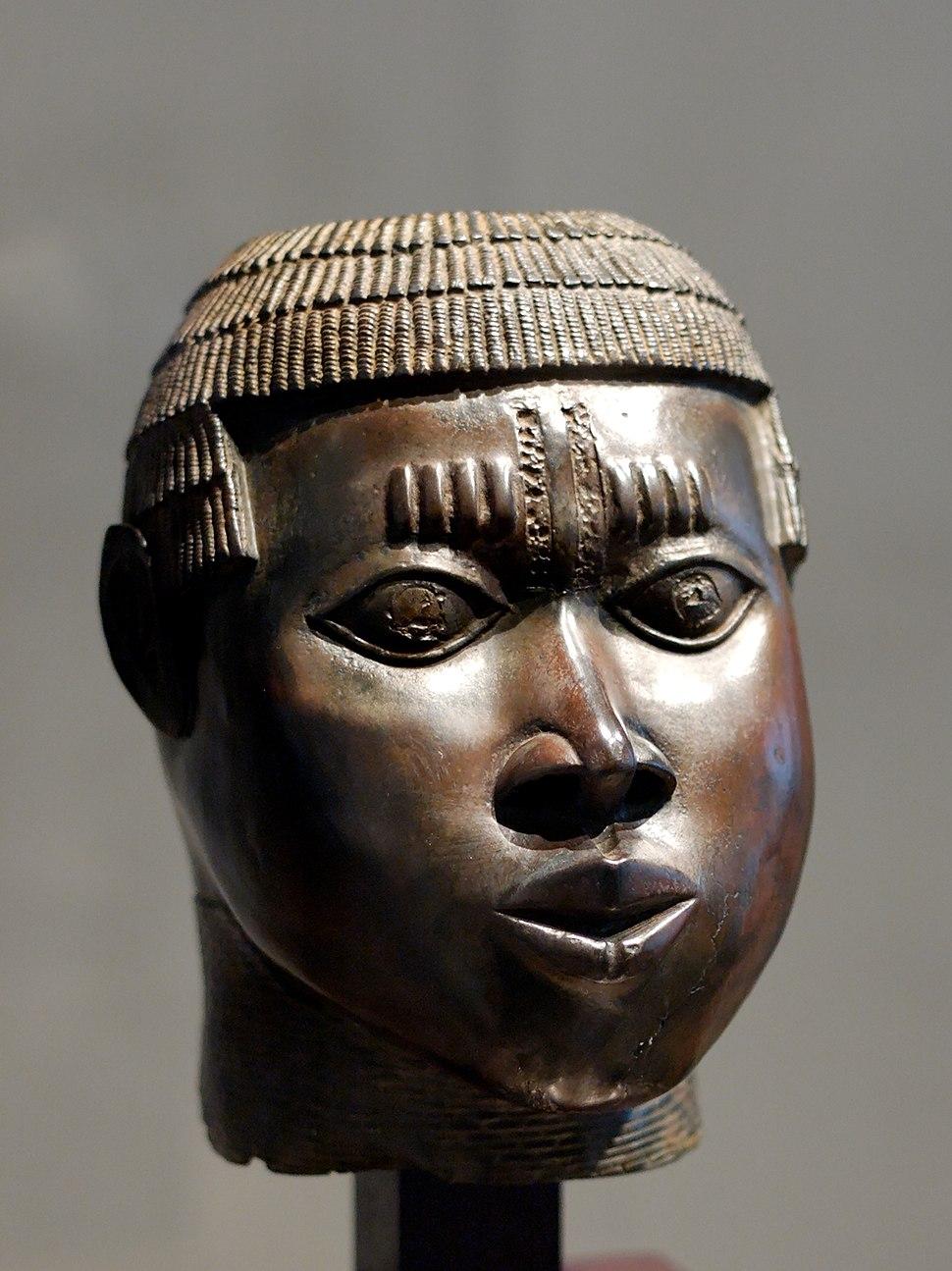 Benin bronze Louvre A97-14-1