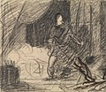 Benjamin Robert Haydon - The Murder of Duncan - Macbeth with the Body (and Lady Macbeth Approaching) - B1977.14.2655 - Yale Center for British Art.jpg