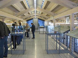 Dokumentationszentrum Obersalzberg - The upper floor of the exhibition area
