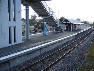 Beresfield railway station