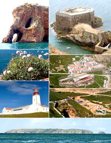 L'arcipelago di Berlengas.