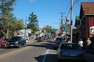 Berlin, Holmes County, Ohio - Downtown Berlin