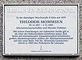 Berliner Gedenktafel Straße des 17 Juni 152 (Charl) Theodor Mommsen.jpg