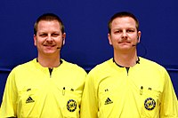 Bernd Methe und Reiner Methe, Handball-Referee (1).jpg