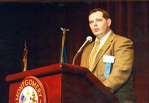 Bill Glose - Bill Glose speaking at the 2001 F. Scott Fitzgerald Literary Conference
