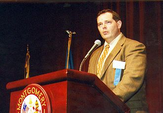 Bill Glose - Bill Glose speaking at the 2001 F. Scott Fitzgerald Literary Conference