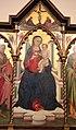 Bicci di lorenzo, madonna col bambino e santi, da s. martino a uzzano, 03.JPG