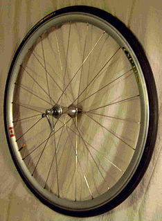 Bicycle wheel Wheel designed for a bicycle