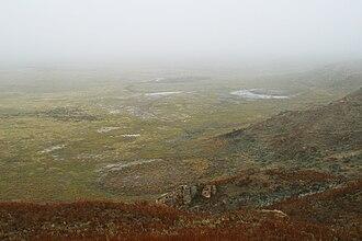 Big Basin Prairie Preserve - Image: Big Basin sink floor 2002