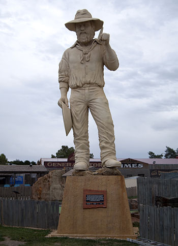 English: The Big Miner at Ballarat in Victoria...