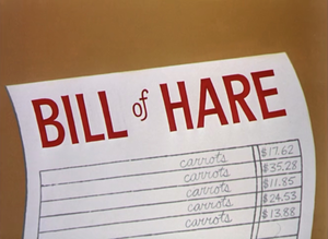 Bill of Hare - Image: Bill of Hare title card