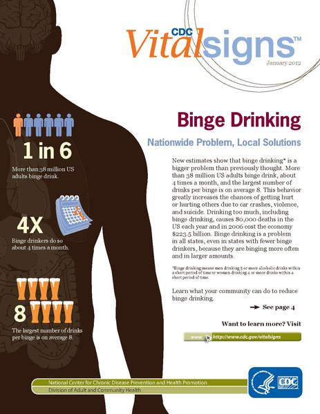 the rising problem of binge drinking in the united states Binge, heavy drinking rising in of all alcohol consumed in the united states — mostly in the form of binge ranks of problem drinking were not.